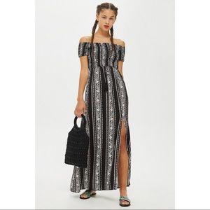 Topshop Bardot Maxi Dress by Band of Gypsies NWT